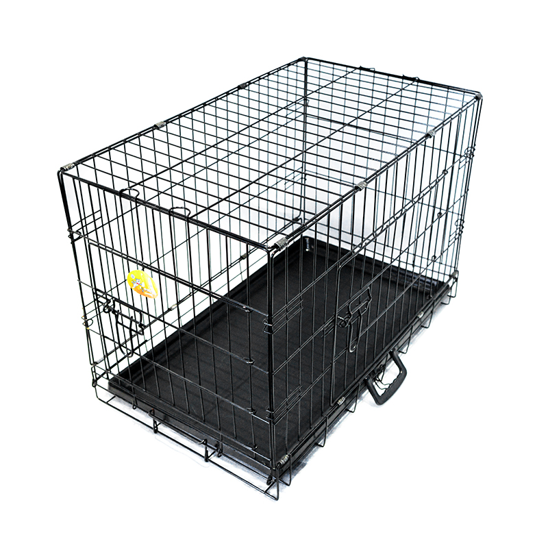 Portable Foldable Iron Multiple Sizes dog cage sale