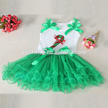 New Fashion Design Small Girls Dress baby Girls Christmas Dress Lace Girls Dress