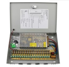 High quality 12v multiple output power supply for cctv camera