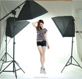 photo video studio Continuous Lighting Kit And Green Muslin Screen With Photo Video Lighting Background Kits
