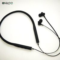 In-ear style bluetooth waterproof earphones with micphone, noise cancelling, bluetooth headset neckband headphone