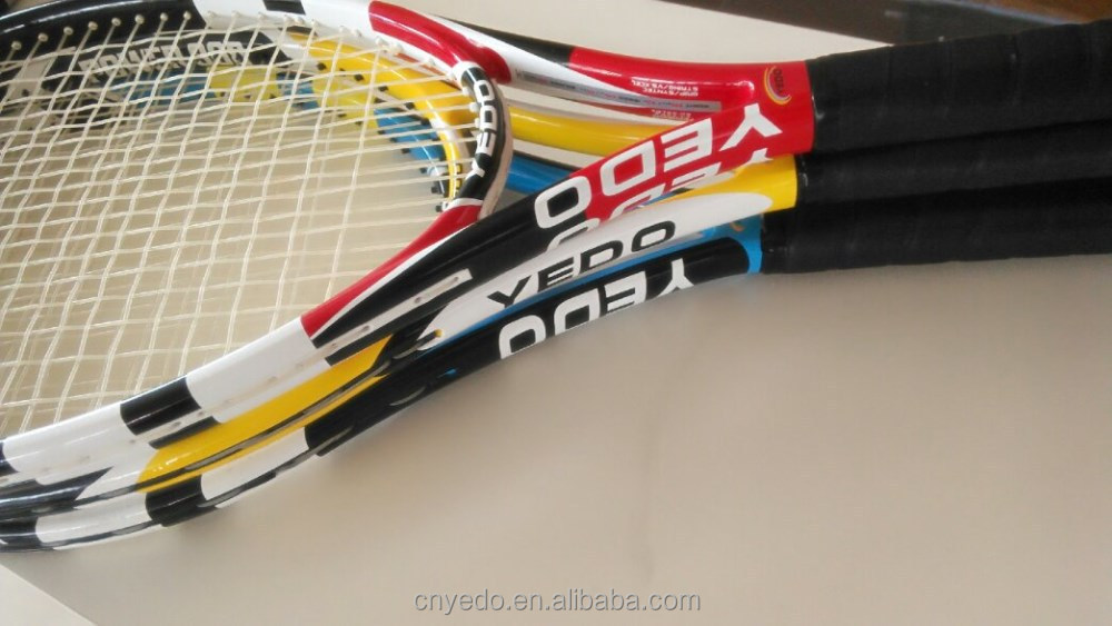 Customed brand name tennis racket , carbon fiber tennis racquet.