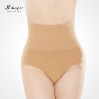 S-SHAPER Japanese Design Female High Waist Abdomen Brief Postpartum Underwear Shapers