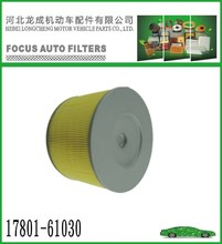 WHOLESALE TOYOTA(17801-63010) AND SUZUKI (13780-63010)CAR AIR FILTER