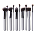 Wholesale 10pcs Kabuki Style Professional Make up Brush Set Foundation Blusher Face Powder Brushes
