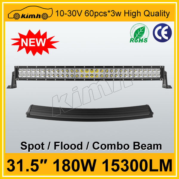 New product car accessory 180w led light bar for cars