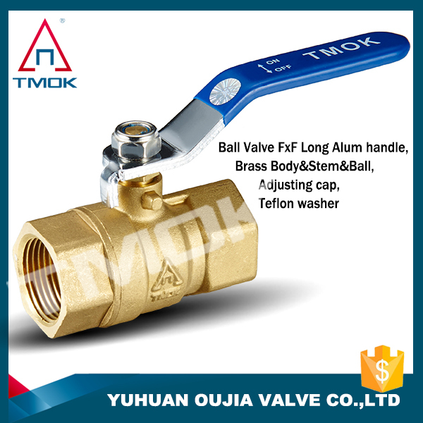 1/2'' High quality BSP Thread brass ball valve,FULL Port 600 WOG equal shape brass ball valve