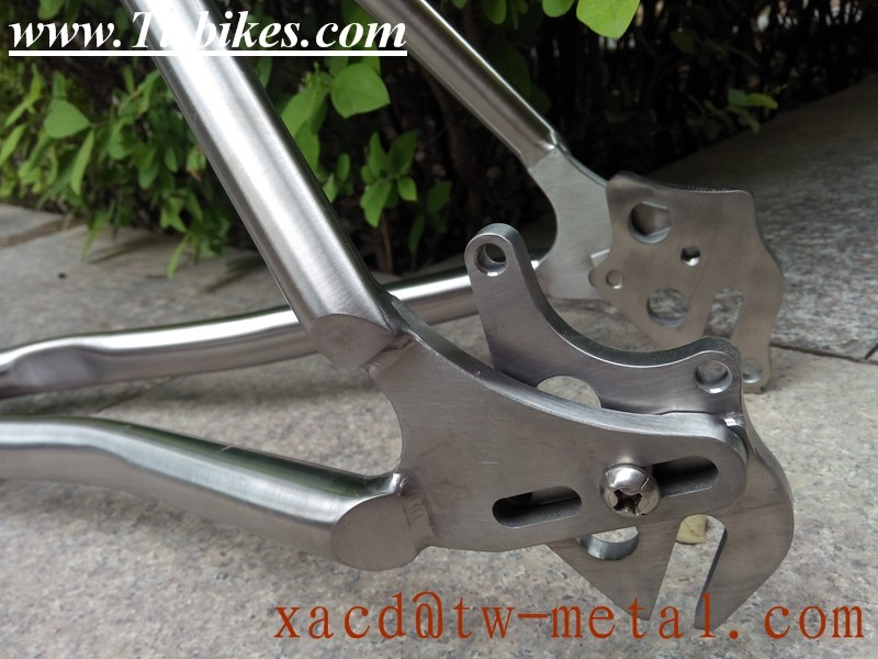 titanium MTB bike frame with rohloff dropout mountain bike frame with rohloff dropout bike frame with sliding dropout