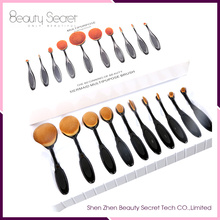 silicone makeup brush cleaning mat 10pcs makeup brush set professional