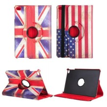 Factory Mini UK Flag Rotating Flip Leather Stand Tablet Case For iPad Mini 2