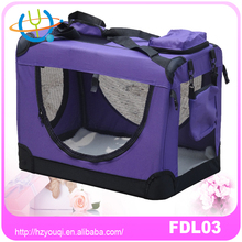 "Newly Designed 2016 Model Airline Approved"" Travel Tote Soft Sided Bag Pet Carrier For Dogs & Cats"
