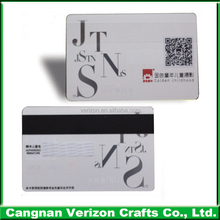 Manufactuer Professional Custom printing 4 color plastic game magnetic vip membership card