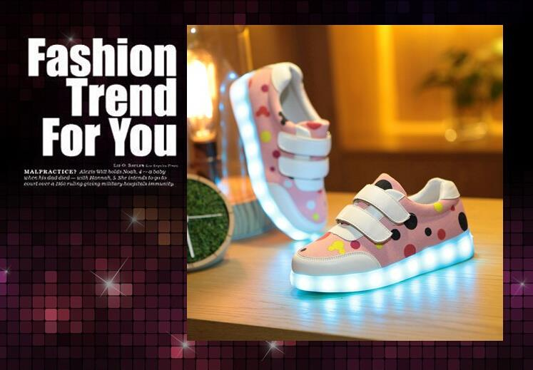 led light up shoes shoes with wings logo