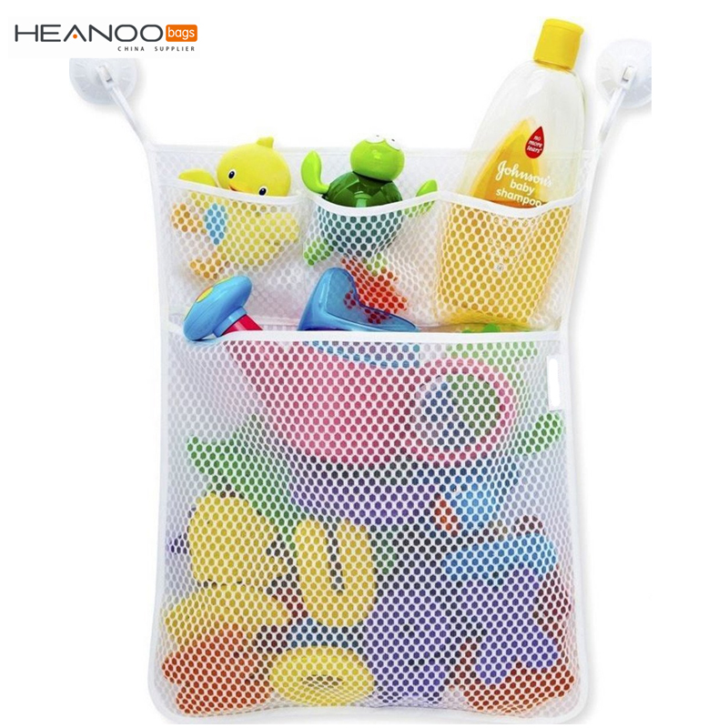 Baby Tub Storage Bin Mesh Bath Wall Hanging Toy Organizer