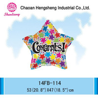 Promotional foil best selling balloon star