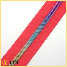 2014 newest high quality nylon fashion zippers