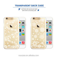 Voocase high quality plastic flash lights cover case for iPhone 5/5s