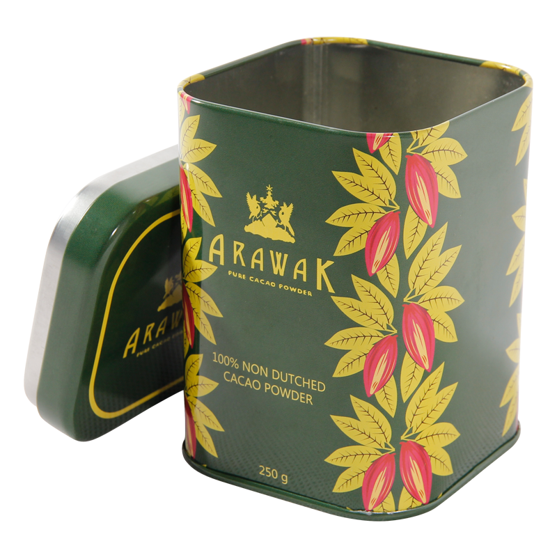 Promotional gift Delicate tin tea box all kinds of tea cans