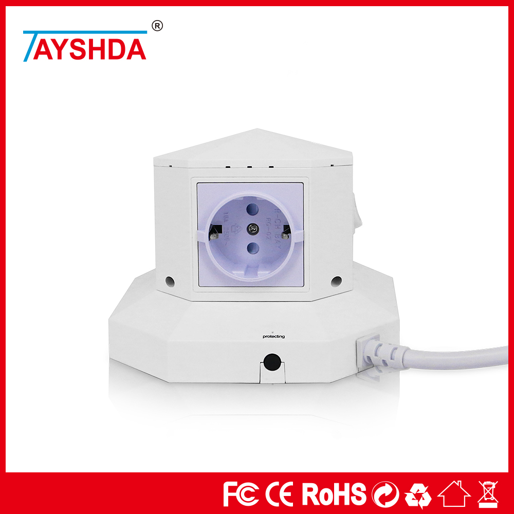 Best Quality J1772 Socket Female 8A Tower Power Made In China