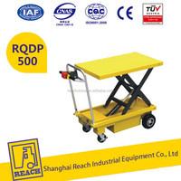 Good quality hot price electric hydraulic cargo lift table