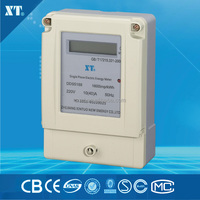 Single Phase prepaid Energy Meter with LCD