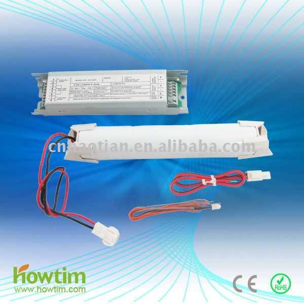 CE RoHS emergency power pack/emergency lighting module/ battery for rechargeable led emergency lamp or tube