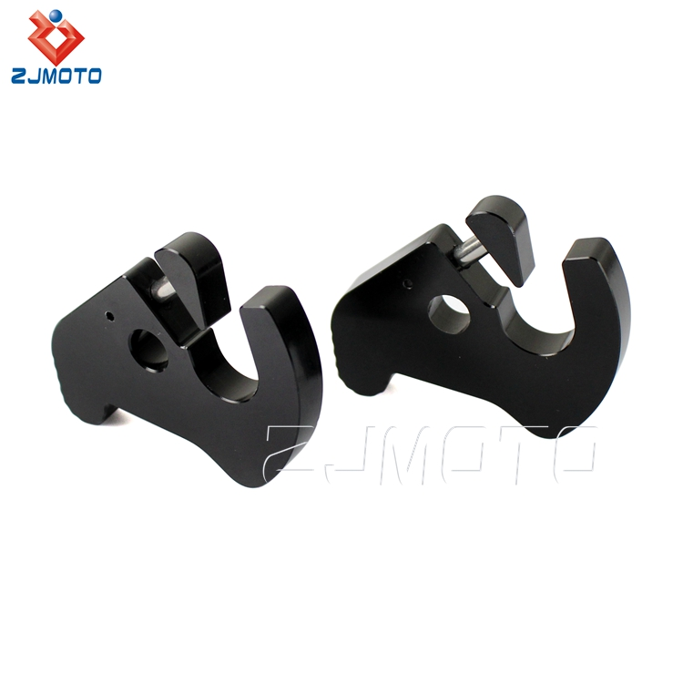 Wholesale Price Detachable Rotary Sissy Bar Luggage Rack Docking Latch Clips Kit For Harley Sportster Softail Dyna Touring