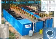 Containerized MBR Industrial or Sewage (Waste Water) Treatment Equipment