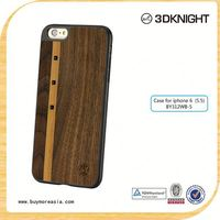 Hard back For Iphone 6 case real wood +tpu strong protector case for iphone 6 6s