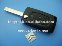 Good design,Citroen 307 3 buttons flip key with light button citroen remote control key