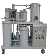 Vacuum hydraulic oil filtration system,used lube oil refinery