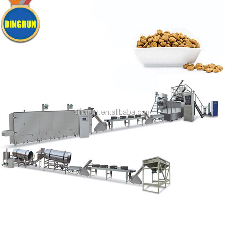 Cost Saving Pet Food Manufacturing Machinery