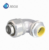 "3/4"" LTCE-M Type Electrical 90 Degree Malleable Iron Liquid Tight Connector"