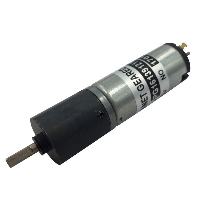 16mm 12 volt 24 volt mini dc gear motor with planetary gear head