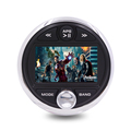 "NEW model Marine golf cart 3.0"" color TFT screen audio player with rotary"