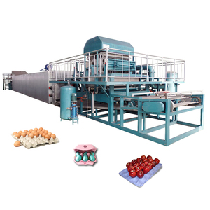 Hot products to sell online egg crate making machine making egg tray
