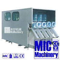 AUTOMATIC 3 IN 1 modern design 5 gallon filling machine washing filling & capping