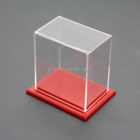 Small size decoration clear acrylic display case, toys display box, storage case