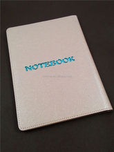 2015 new design notebooks made of stone