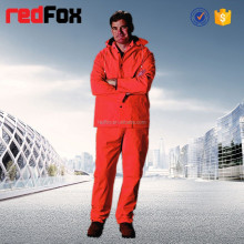 fashion red hot sale pvc rain suit