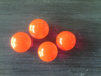 sports paint for shooting,2013 new,orange,0.68''paintball for training