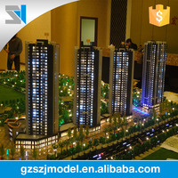 Construction Real Estate Model Acrylic Miniature