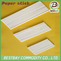 Paper material sugars-loaf stick,paper stick for pie pops