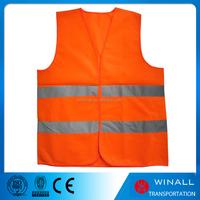 Half body protection 3m reflective strips road safety vest