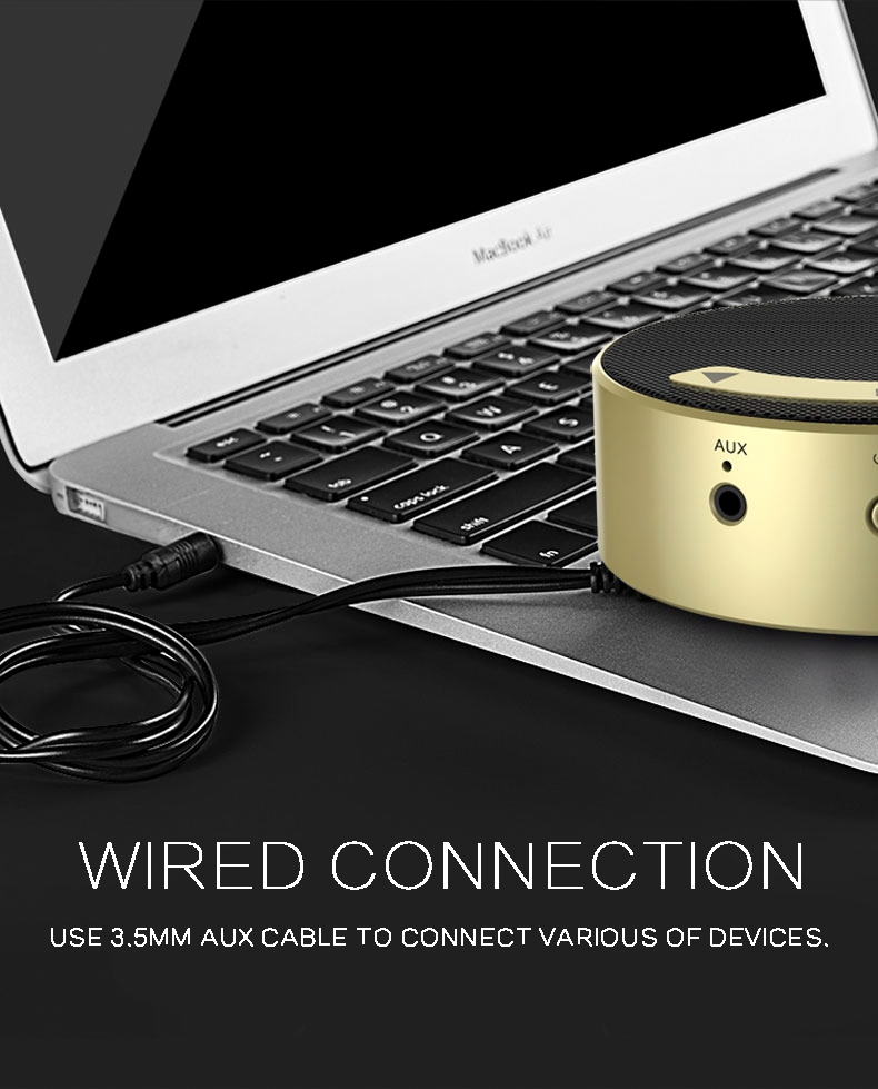 High-speed anti-interference links mini stereo bluetooth speaker shenzhen