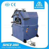 JM-60-V hydraulic drive high precision metal pipe roll form rolling coil bending machine