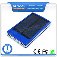 20000mAh solar phone charger,mobile solar charger,portable power bank For Cell Phone
