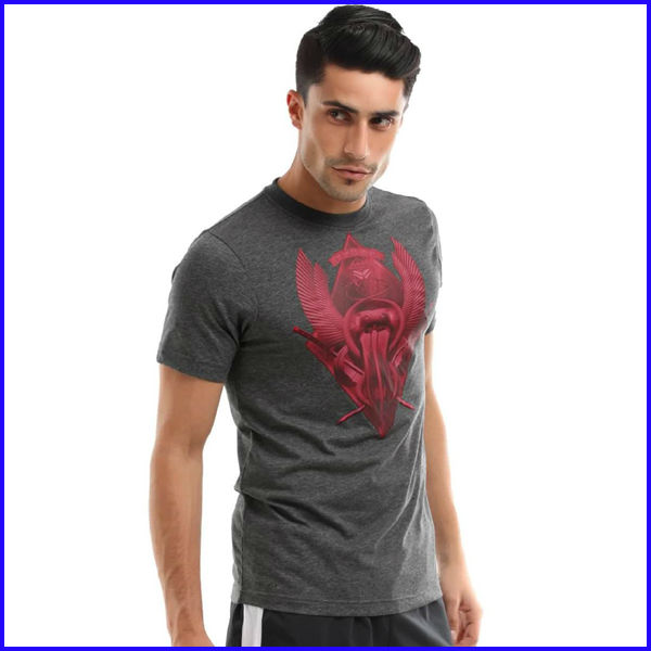 Wholesale rock band 100% cotton men's wholesale graphic t-shirts