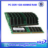 Best selling retail items ETT chips ddr 1gb ram computer hardware software