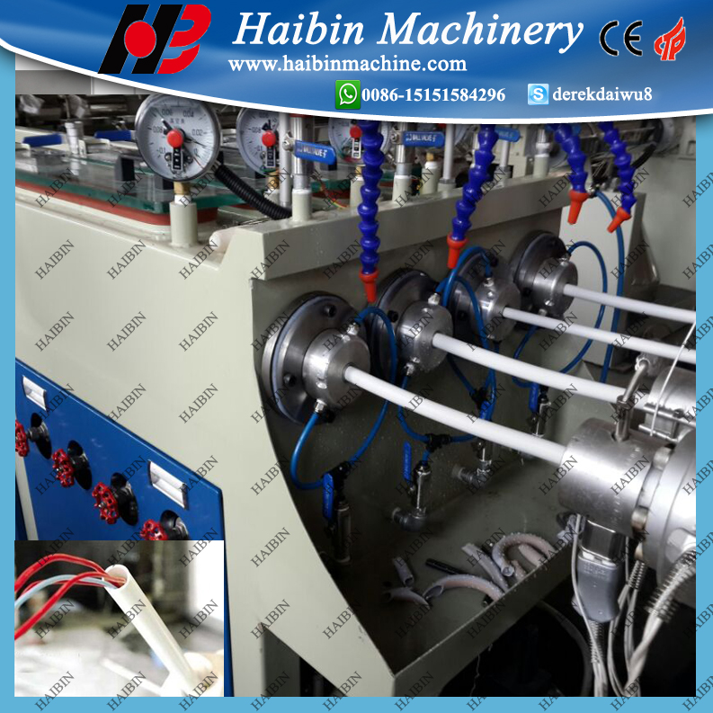 China high speed pvc electric conduit pipe making machine